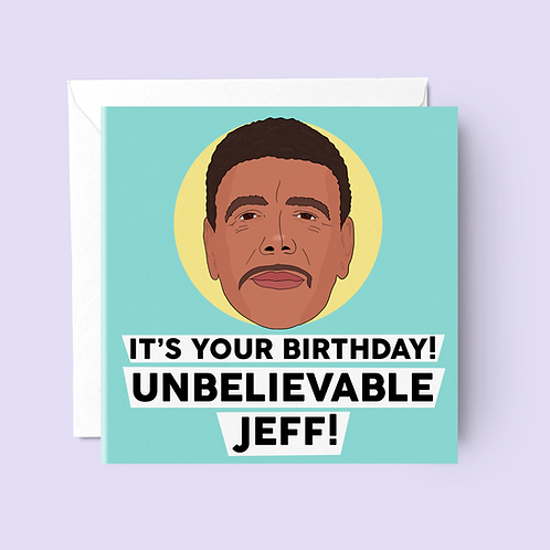 Chris Kamara Birthday Card