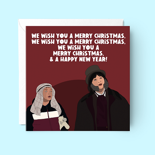 Gavin and Stacey Christmas Card