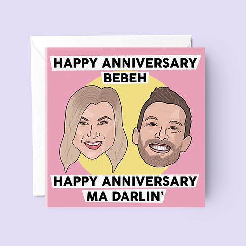 Shagged Married Annoyed Anniversary Card