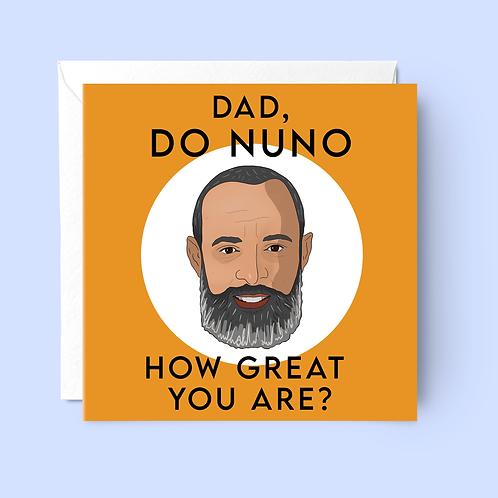 Nuno Father's Day Card