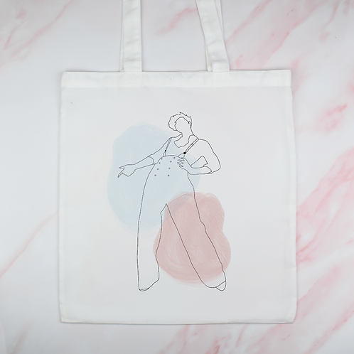 Harry Styles Fine Line Tote Bag