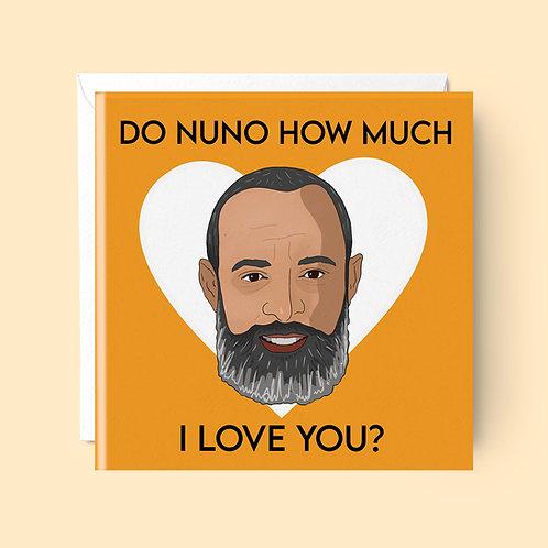 Nuno Valentines Card