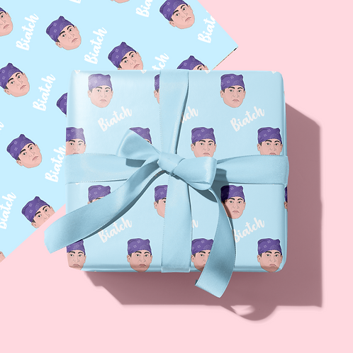 Prison Mike Wrapping Paper & Tag