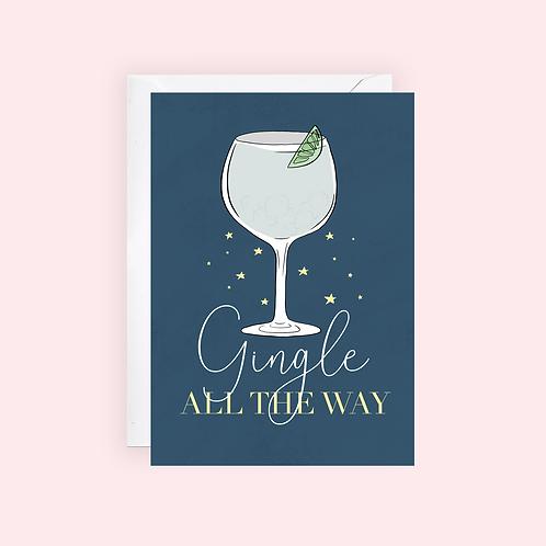 Gin Christmas Card