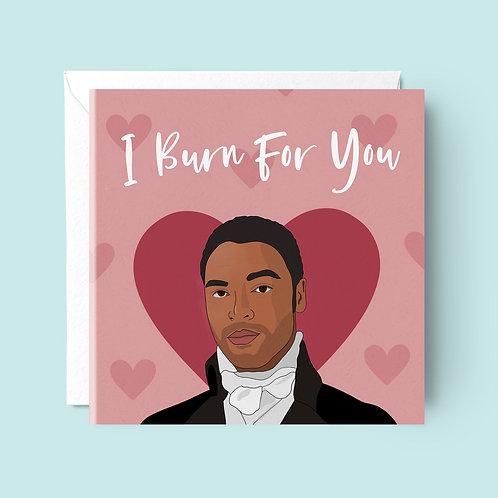 Bridgerton The Duke Valentine's Card