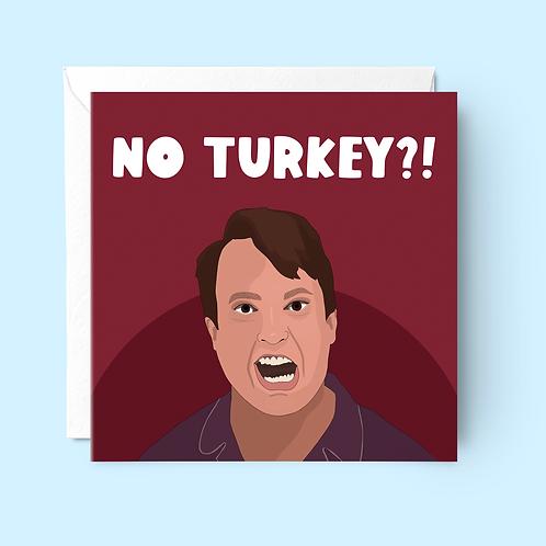 No Turkey?! Christmas Card