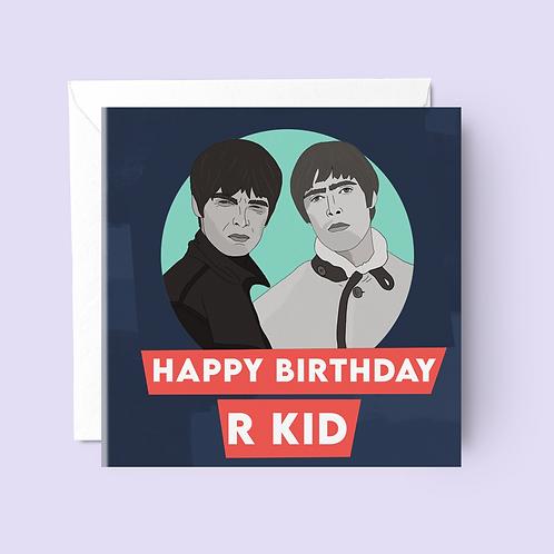 Oasis Birthday Card