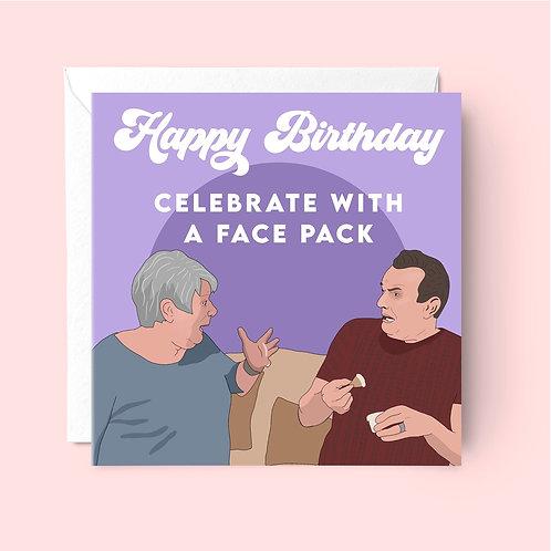 Gogglebox Jenny and Lee Birthday Card