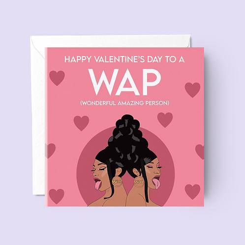 WAP Valentine's Day Card