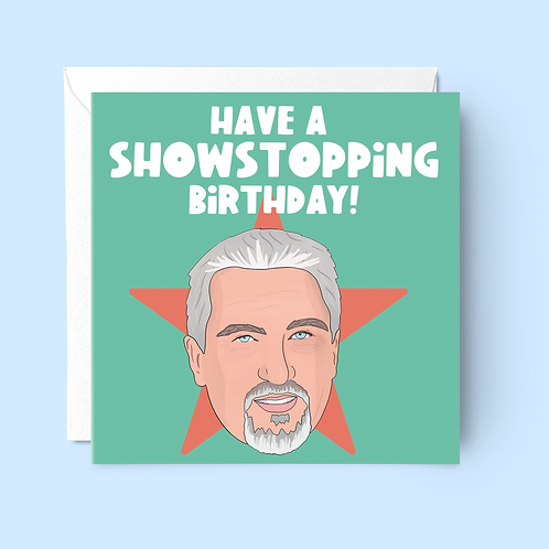 Show Stopping Birthday Card