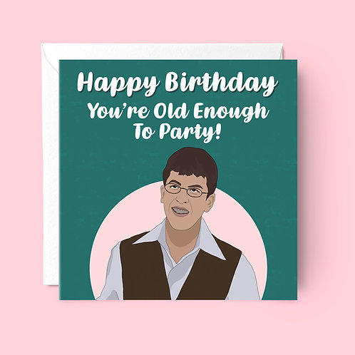 McLovin Birthday Card