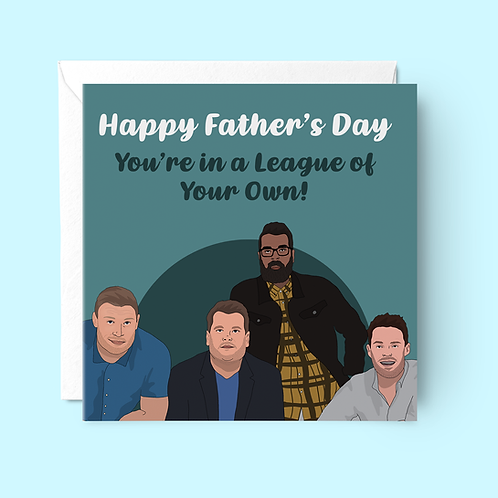A League of Their Own Father's Day Card