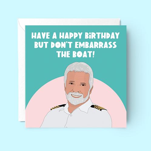 Below Deck Birthday Card