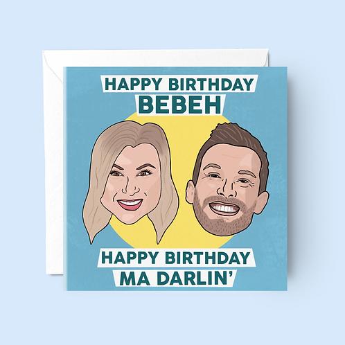 Shagged Married Annoyed Birthday Card