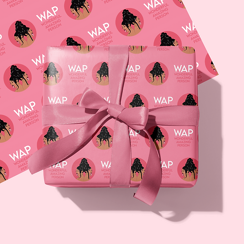 WAP Gift Wrapping Paper & Tag