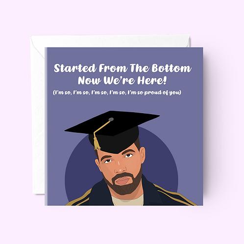 Drake Graduation Card