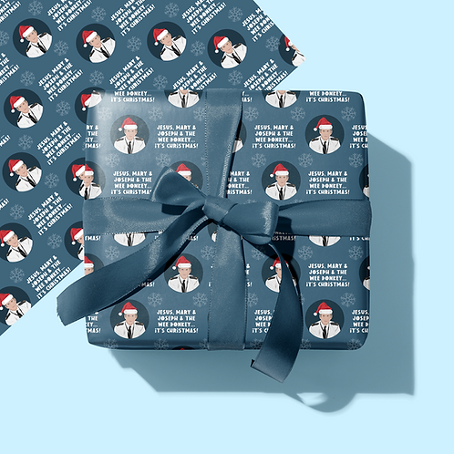 Line of Duty Christmas Wrapping Paper