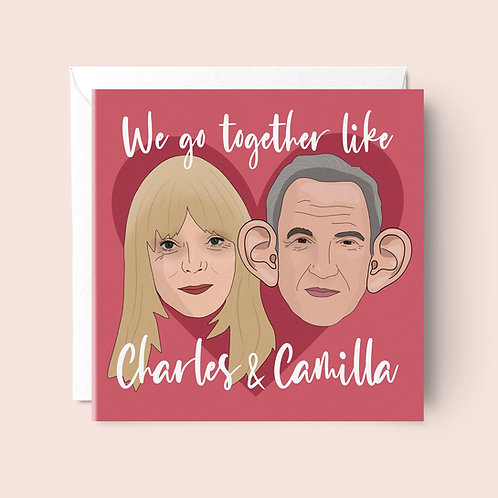 Pam and Mick Valentines Card