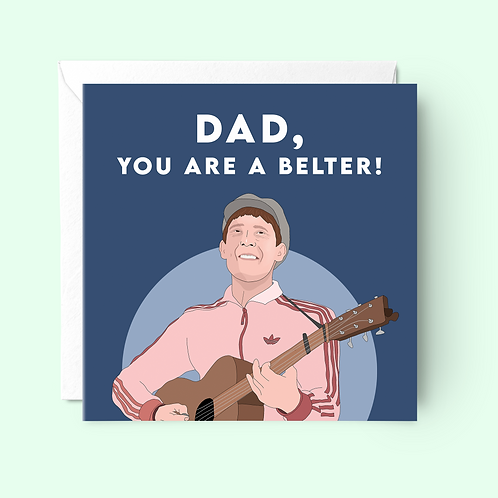 Gerry Cinnamon Father's Day Card