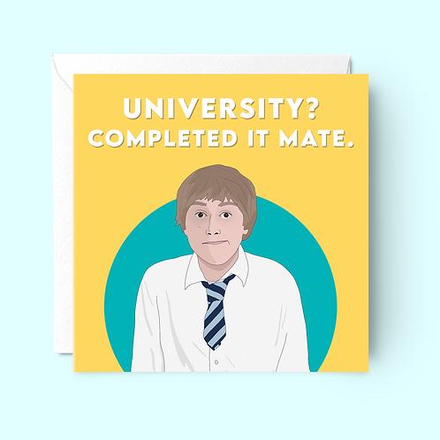 Inbetweeners Graduation Card