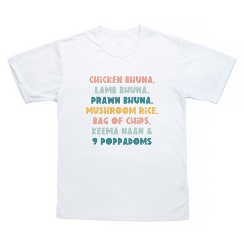 Chicken Bhuna Smithy T-Shirt