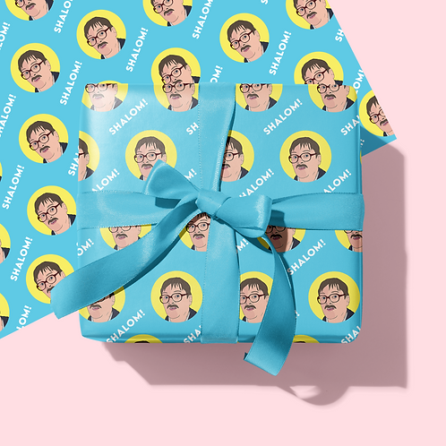 Friday Night Dinner Wrapping Paper & Tag