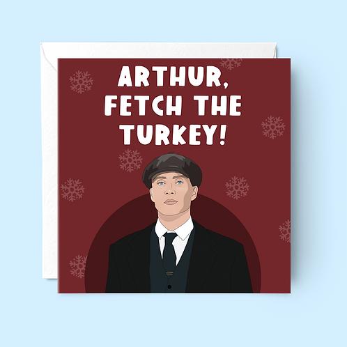 Peaky Blinders Christmas Card