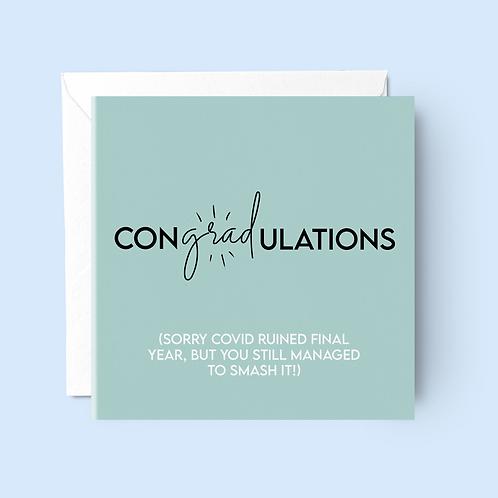 Graduation Class of Covid Card