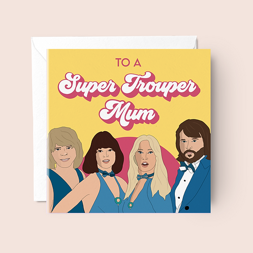 ABBA Mother's Day Card