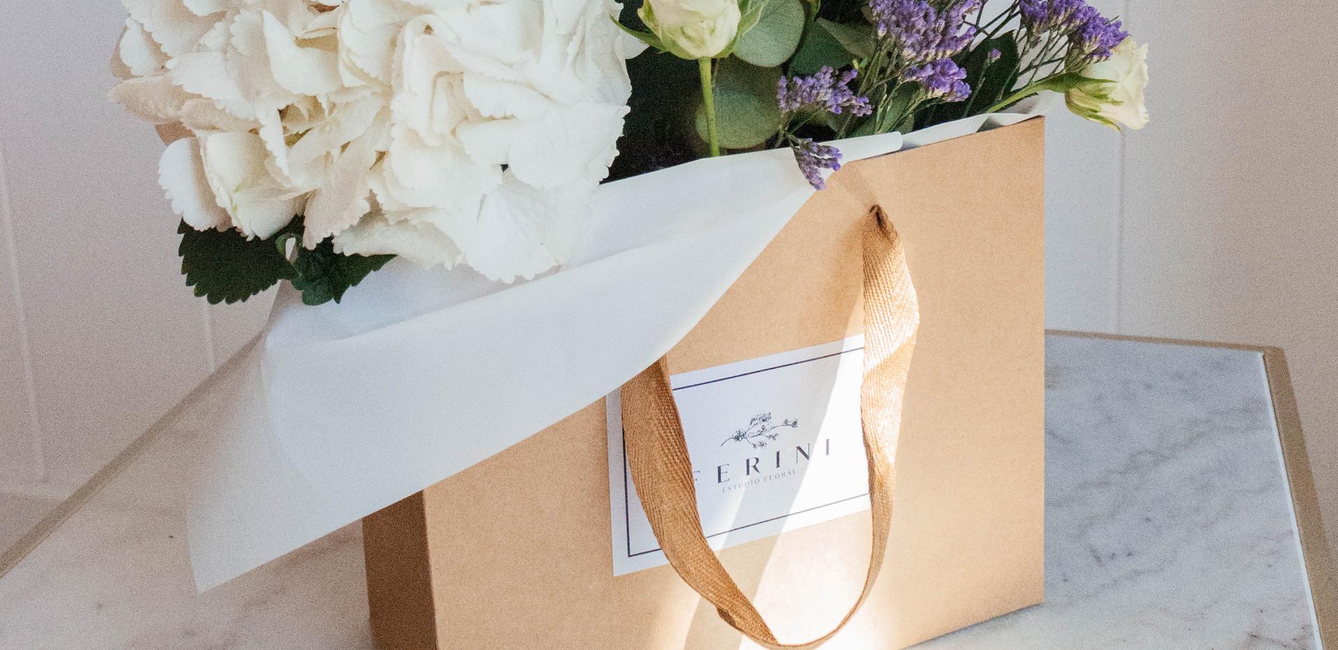 Flor en bolsa Avril