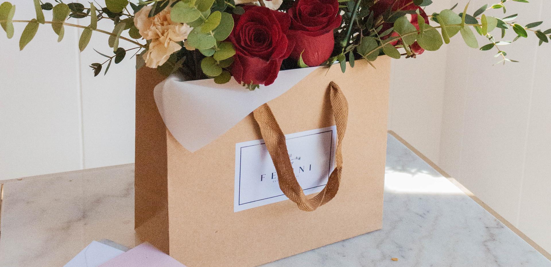 Flor en bolsa Cayetana