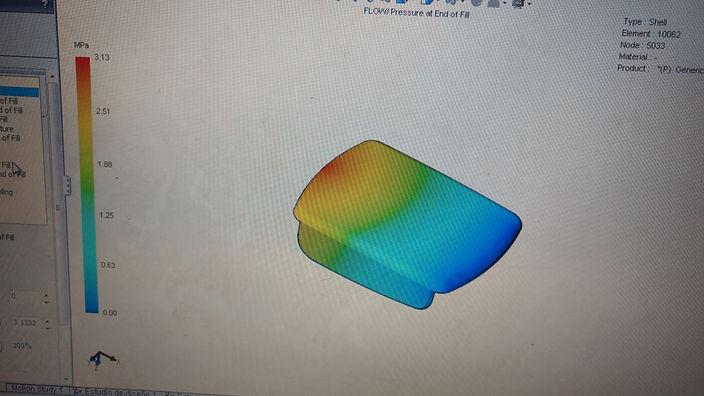 simulacion de inyeccion