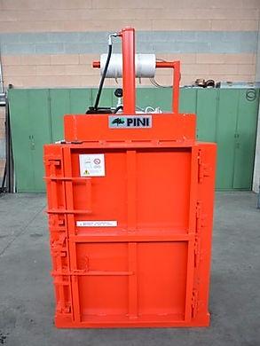 La pressa rifiuti  P3 è la più piccola del suo genere.