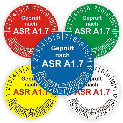 Nr.1065 ASR1.7 - Die ASR1.7 zum nachlesen