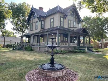National Register Minnesota Victorian With Original Built In Safe Sells For $320,000. See Inside!