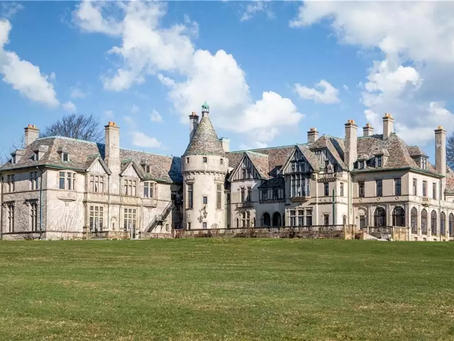 """Gilded Age Mansion """"Seaview Terrace"""" Of Dark Shadows Fame With 43,000 Sq Feet Lists At $29.9 Million"""