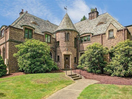 17 Bathroom 1930 Jamestown New York Tudor Mansion Lists At Just $675K. See Inside!