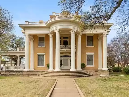National Register Rogers Mansion With Amazing Detailed Woodwork Lists At $575,000!