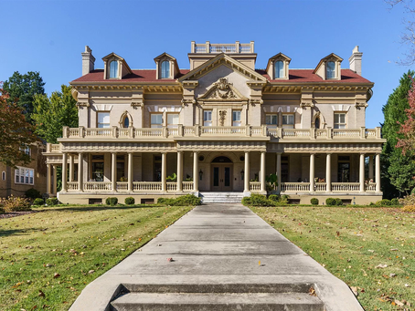 "Restored GA ""Crisco Mansion"" Featuring Amazing Staircase W/Built in Fireplace Lists At $1.6 Mil"