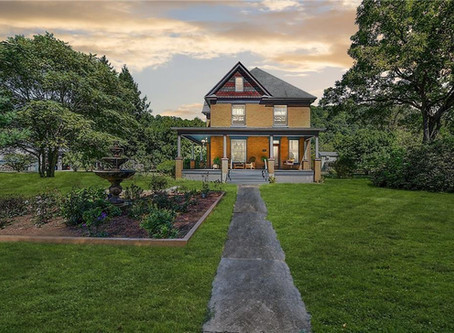Buffalo Bill House From Silence Of The Lambs Featuring Ornate Woodwork & 1.76 Acre Lists At 298,500