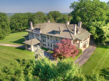 20,000 Sq Foot Cincinnati Mansion With Built in Pipe Organ & Amazing Fireplaces Lists At $1.4 Mil