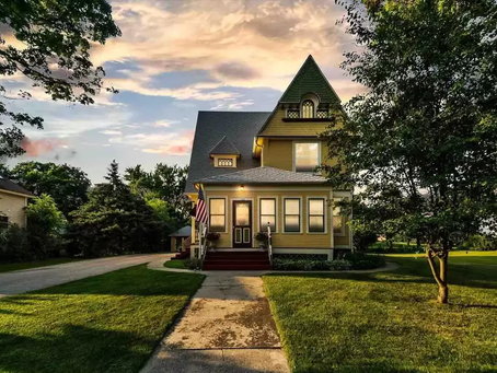 National Register WI Victorian With Amazing Built-In's Lists At $200K! Look Inside!