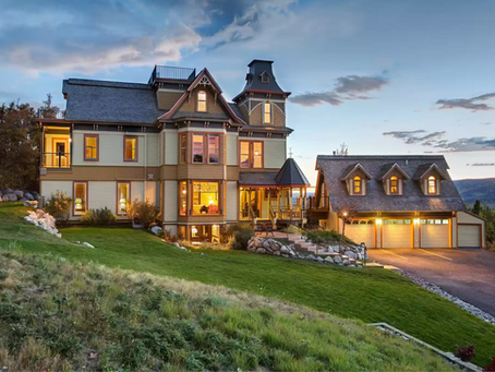 1882 Restored Brinkerhoff Mansion Moved To Colorado From Kansas Lists For $4.79 Mil! See Inside!