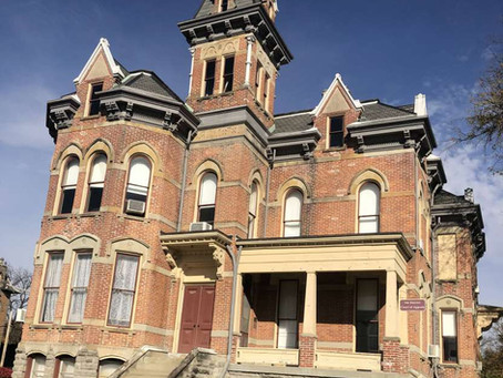 1878 French Second Empire Ohio Jail With 8,500 Sq Feet Lists At $299K. See Inside!