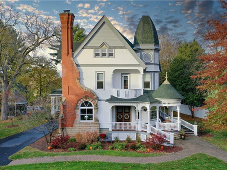 George F. Barber Victorian Masterpiece In Wisconsin Lists for $749,900! See Inside!