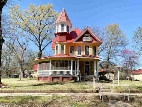 "Historic 1906 ""The Love House"" On National Register Lists for $199,900. See Inside!"