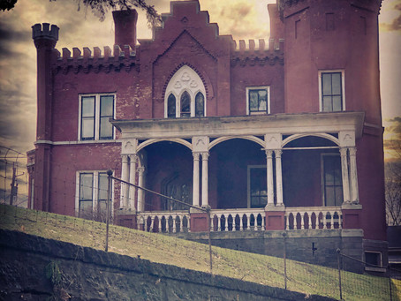 1861 New York 7,000 Sq Foot Paranormal Castle With Stunning Woodwork Auctioned on Halloween For $25K