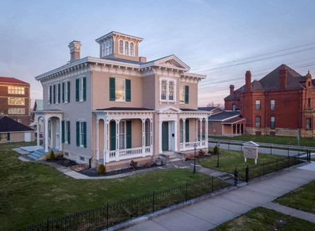 1858 Restored Andrew Scott Mansion With 3 Story Staircase & Cupola Lists At $199,900!