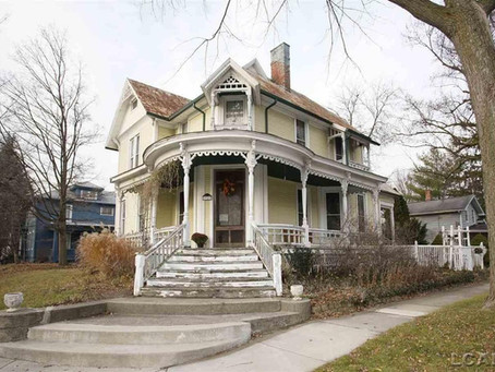Five Bedroom Michigan Victorian With Original Woodwork Lists At Just $129,900