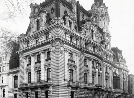 "One of New York City's Grandest Mansions to Exist: The Clark Mansion, ""Clark's Folly"" Fifth Avenue"
